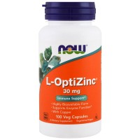 NOW L-OptiZink 30mg 100 veg caps