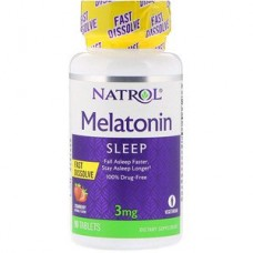 Natrol melatonine 3mg 90tab