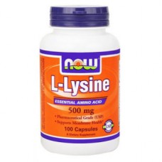 витамины NOW L-LYSINE 100caps
