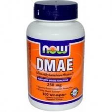 витамины NOW  DMAE 250 mg 100caps