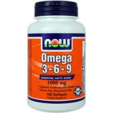 витамины NOW  Omega 3-6-9 1200mg 180caps